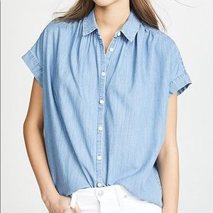 Madewell chambray central shirt